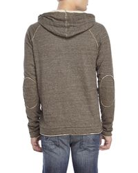 Jeremiah | Gray Vagabond Heathered Cotton Hoodie for Men | Lyst