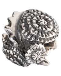 Trollbeads | Yellow Sterling Silver Dandelion Charm | Lyst