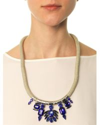 Weekend by Maxmara - Blue Biblios Necklace - Lyst