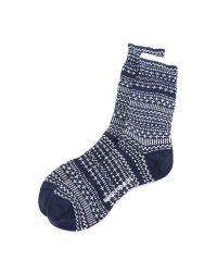 Norse Projects - Blue Bjarki Winter Socks for Men - Lyst