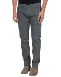 Macchia J - Gray Casual Trouser for Men - Lyst