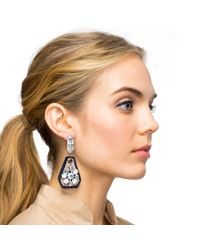 Lulu Frost - Black Lana Statement Earring - Lyst