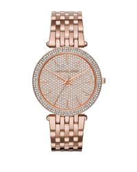 Michael Kors | Metallic Mk3439 Darci Rose Goldtone Stainless Steel Bracelet Watch | Lyst