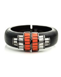Alexis Bittar | Black Cubist Baguette Barrel Hinged Bracelet You Might Also Like | Lyst
