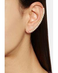 Ana Khouri Metallic Isabel 18karat Gold Diamond Ear Cuff