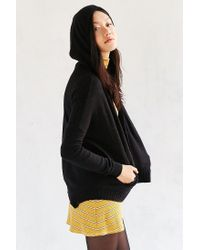 Silence + Noise - Black Take Your Time Cardigan - Lyst