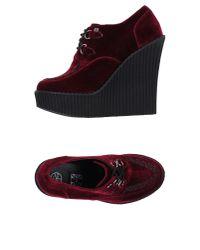 T.U.K. - Purple Lace-up Shoes - Lyst