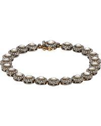 Munnu | Metallic Single Line Bracelet | Lyst