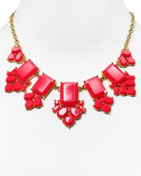 kate spade new york | Red Daylight Jewels Necklace, 17"