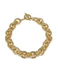 Amanda Wakeley | Metallic Chunky Gold Necklace | Lyst