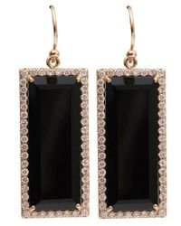 Irene Neuwirth | Pink Emerald Cut Onyx Earrings | Lyst
