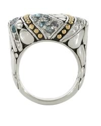 John Hardy | Blue Kali Lavafire Sea Colorway Ring | Lyst