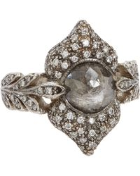Cathy Waterman | Gray Ornate Ring | Lyst