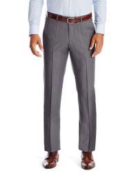 BOSS - Gray 'sharp' | Regular Fit, Virgin Wool Dress Pants for Men - Lyst