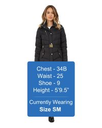 Cole Haan - Black Signature Single Breasted Essential Quilted Jacket - Lyst