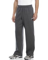 New Balance | Gray Essential Fleece Sweatpants for Men | Lyst