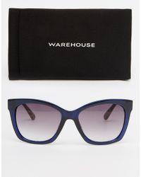 Warehouse - Blue Contrast D Frame - Lyst