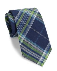 Lauren by Ralph Lauren | Green Textured Plaid Tie for Men | Lyst
