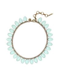 Loren Hope | Blue Sylvia Necklace, Seafoam | Lyst