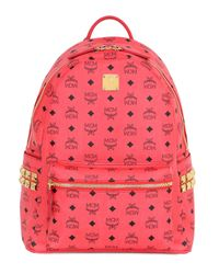 MCM | Red 'Stark' Backpack | Lyst