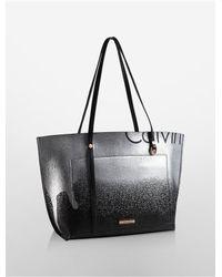 Calvin Klein | Black Hudson Ck Monogram Satchel | Lyst