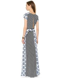 Tigerlily - Multicolor Cote Maxi Dress - Patchwork - Lyst