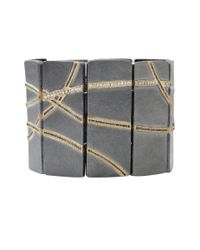 Todd Reed | Metallic Diamond Panel Bracelet | Lyst