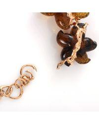 Lucifer Vir Honestus - Metallic Carved Amber Starfish Necklace - Lyst
