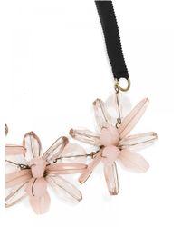 BaubleBar | Pink Plumeria Collar | Lyst