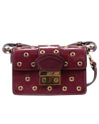 RED Valentino | Purple Clutch | Lyst