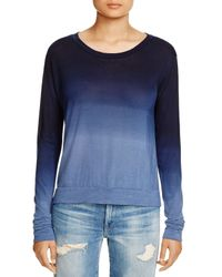 LNA | Blue Ombre Tee | Lyst