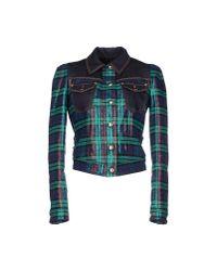 Just Cavalli - Green Jacket - Lyst