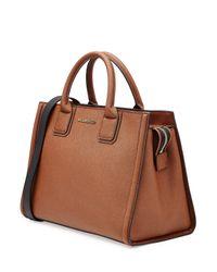 Karl Lagerfeld - Leather Shopper - Brown - Lyst