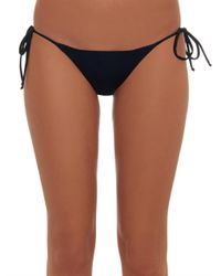 Mara Hoffman | Black Beaded-back Bikini Briefs | Lyst