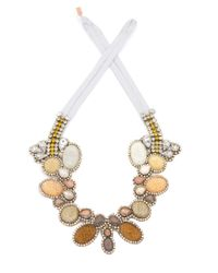 Doloris Petunia | Natural Color Fade Seurat Necklace, Honey | Lyst