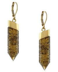 Vince Camuto | Metallic 'shard' Drop Earrings | Lyst
