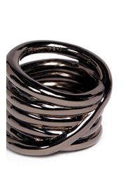 Eddie Borgo - Metallic Slip Knot Ring for Men - Lyst