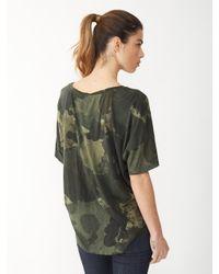 Alternative Apparel - Natural Venice Printed T-Shirt - Lyst