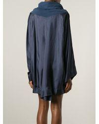 Antonio Marras - Blue Oversized Asymmetrical Dress - Lyst