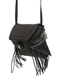 Corto Moltedo - Black Theodora Leather Shoulder Bag - Lyst