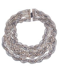Elizabeth Cole | Natural Carlisle Necklace | Lyst