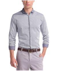 BOSS Orange - Purple 'Emistere'   Slim Fit, Dobby Button Down Shirt for Men - Lyst