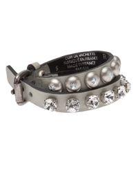 Ronald Pineau - Gray Double Bracelet - Lyst
