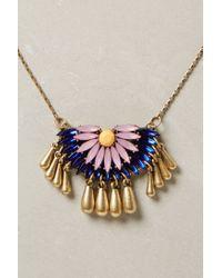 BaubleBar - Blue Anemoon Pendant Necklace - Lyst