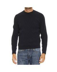 Ermenegildo Zegna - Blue Men's Sweater for Men - Lyst