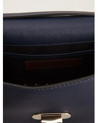 Valentino - Blue Rockstud Pochette - Lyst