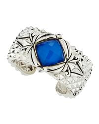 Stephen Webster - Blue Spiked Crystal Haze Bracelet - Lyst