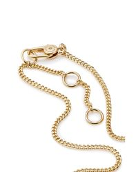 Marc By Marc Jacobs - Metallic Statement Necklace - Gold - Lyst
