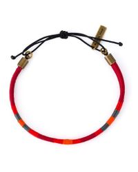 Isabel Marant | Red Double Bracelet | Lyst