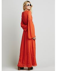Free People - Red Womens Summer Love Dress - Lyst